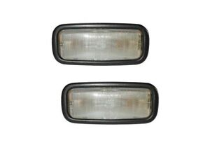 Set of 2 Interior Light with Black Frame HELLA for Porsche Brand New