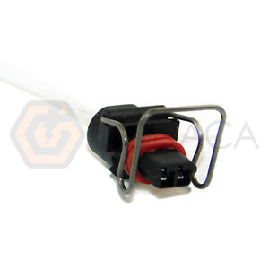 1x Connector 2-way 2 pin for Ford Powerstroke F4TZ-9D930-K