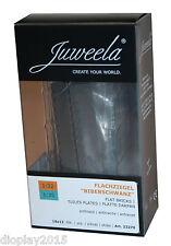 Juweela® 1:32/35 Flachziegel Biberschwanz anthrazit 18x12 Stk. Modellbau 23270