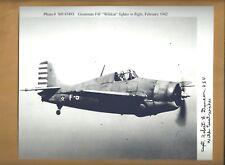 Robert Duncan WW2 Ace Pilot Autographed 8x10 Picture Autograph Photo