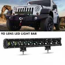21 Inch CREE 9D Driving Light Offroad LED Work Light Bar 20'' For Jeep Ford SUV
