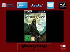Mount & Blade Steam Key PC Game Download Code NEW LIGHTNING SHIPPING
