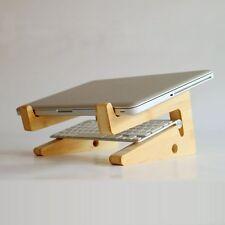 Wood Adjustable Desk Table Mount Holder Stand For Tablet Laptop Notebook Macbook