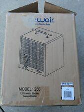 Garage Heater Durable Steel Construction Adjustable Thermostat Home 5600 Watt
