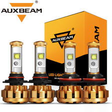 AUXBEAM F-16 SERIES 9005+H11 CREE LED Headlight Bulbs High&Low Beam White 6000K