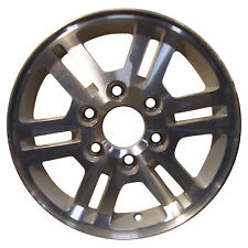 05423 Factory, Oem Reconditioned wheel 16 X 6.5; Sparkle Silver w/Machined Face