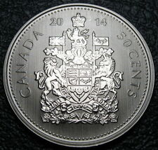 RCM - 2014 - 50-cents - Coat of Arms - Specimen - Uncirculated