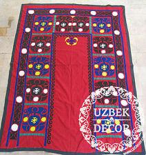 UZBEK SILK HAND EMBROIDERED SUZANI JOYPYSH # 8470