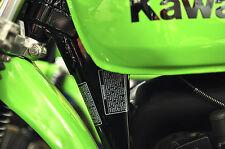 1978 79 Kawasaki KX 125 250 Warranty Warning Decals Ahrma Vintage Motocross