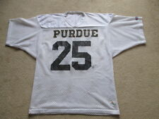 Vintage Champion GAME WORN Purdue Boilermakers NCAA Football Jersey # 25 Mens XL