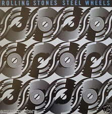 """Rolling Stones """"Steel Wheels"""" Canada Promo Poster-Mick Jagger,Keith,Charlie,Ron"""