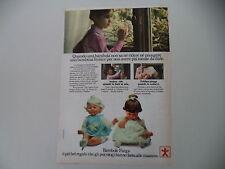 advertising Pubblicità 1973 BAMBOLE FURGA ANDREA e POLDINA