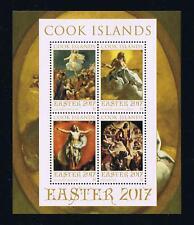 Cook Islands 2017 Easter Souvenir Sheet