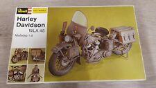 REVELL ESCI 1/9 Harley Davidson WLA 45 model kit H-2201