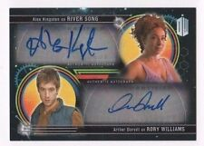 2016 Dr. Who Extraterrestrial Encounters DUAL auto Alex Kingston Rory Williams