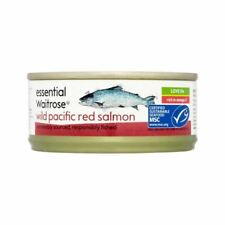 Wild Red Salmon essential Waitrose 105g - Pack of 4