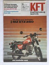 Kraftfahrzeugtechnik KFT 05/1981 MZ ETZ 250 IFA DDR Geschenk Ostern Selten Alt
