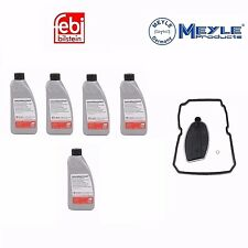 5 Liter ATF Automatic Tran Fluid & Filter kit For Dodge Freightliner MB Spec