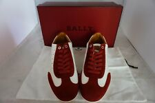 Brand New Bally Men Shoes Size 10 HALVIN-U/408 RED