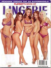 Playboy BOOK OF LINGERIE 2002 u.a. mit *ALLEY BAGGETT, SYDNEY MOON, AMY MILLER*