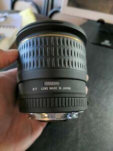 Sigma AF 24mm f1.4 EX DG HSM Lens for Canon EF