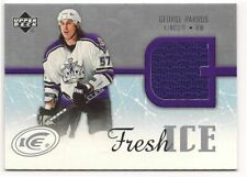 George Parros 05-06 Upper Deck Ice Fresh Ice Game Jersey