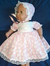 "PRETTY DOLLS CLOTHES FITS 17/19"" BABY ANNABEĹL BABY BORN LUVABELLA REBORN"