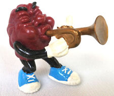 California Raisins LOUIE ARMSTRONG PVC Figure by Applause Vintage 1989 Free Ship