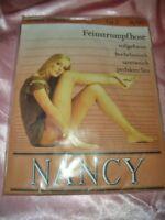 Vintage 70er J. Nancy Feinstrumpfhose Gr. 38-40 diamant Collant Tights OVP