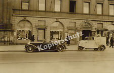Foto Rosenthal Porzellan Framo Dreirad-Transporter Auto Odeonsplatz München 1931