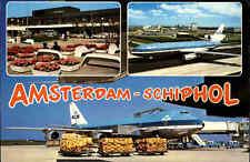 AMSTERDAM Airport Flughafen Schiphol, Luchthaven Holland Flugzeuge KLM Airline