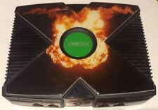 Original Microsoft Xbox Console With Skin And 1 Controller