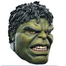 Avengers Hulk Head Over-The-Head Latex Mask Adult Halloween Cosplay Costume