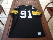 Starter Kevin Greene Pittsburgh Steelers Authentic Football Jersey sz. 52 vtg