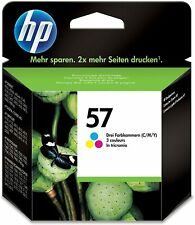 Hp no 57 colour original oem ink cartridge for printer parts-c6657ae