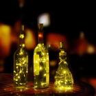 Chic Corcho Forma LED Lámpara Mesilla estrellado luz Botella de vino Para 2017