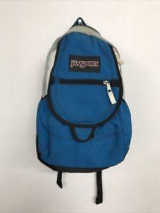JanSport Airlift Backpack Blue Two Tone Back Pack Bag