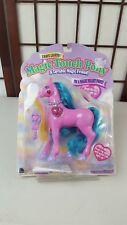 1996 Magic Touch Pony Micro Games of America Crystalia Toy Pink Blue Mane Figure