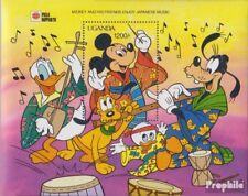 uganda block139 (complete issue) unmounted mint / never hinged 1991 Walt-Disney-