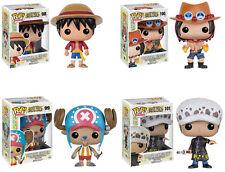 Funko POP! Animation ~ ONE PIECE SET ~ LUFFY, PORTGAS, TRAFALGAR, TONY CHOPPER