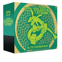 Pokemon Celestial Storm Elite Trainer Box Sealed Sun & Moon TCG Cards 8 Packs
