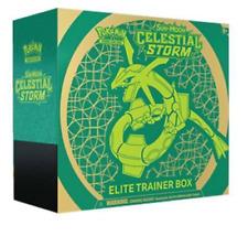 Pokemon Celestial Storm Elite Trainer Box Sealed Sun & Moon TCG Cards 8 Packs