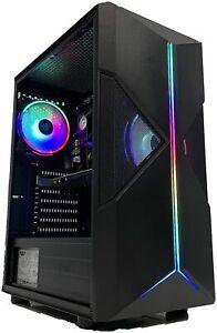 PC GAMING COMPUTER FISSO LED RGB i7 16GB RAM 480GB SSD HD NVIDIA GT1030 2GB WiFi