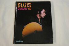 ELVIS PRESLEY VEGAS '69 HARDBACK BOOK NEW OFFICIAL KEN SHARP 2009 JETFIGHTER