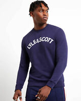Lyle and Scott Men Logo Sweatshirt - Cotton