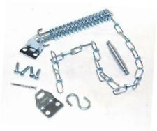 Crash Chain Storm Door Guard - Heavy Duty Steel Construction - Single Spring