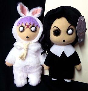 Living Dead Dolls Creepy Cuddlers Series 1 Set of 2 Sadie Eggzorcist New 2004