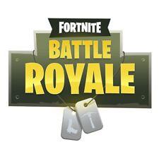 A5 Fortnite Battle Royale Logo ICING Edible Cake Topper x 2