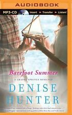 A Chapel Springs Romance: Barefoot Summer 1 by Denise Hunter (2015, MP3 CD,...