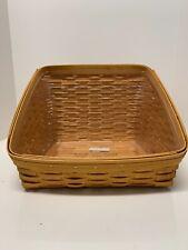 Longaberger Woodcrafts Large Basket